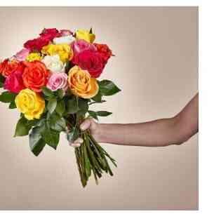 Duas dúzias de rosas vari..