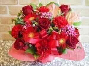 Festive arrangement in Re..