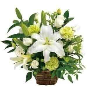 Funeral arrangement in wh..
