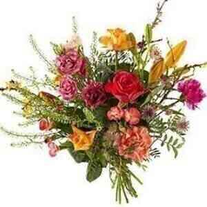 Bouquet merry field..