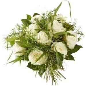 BOUQUET SWEET WHITE ROSE...