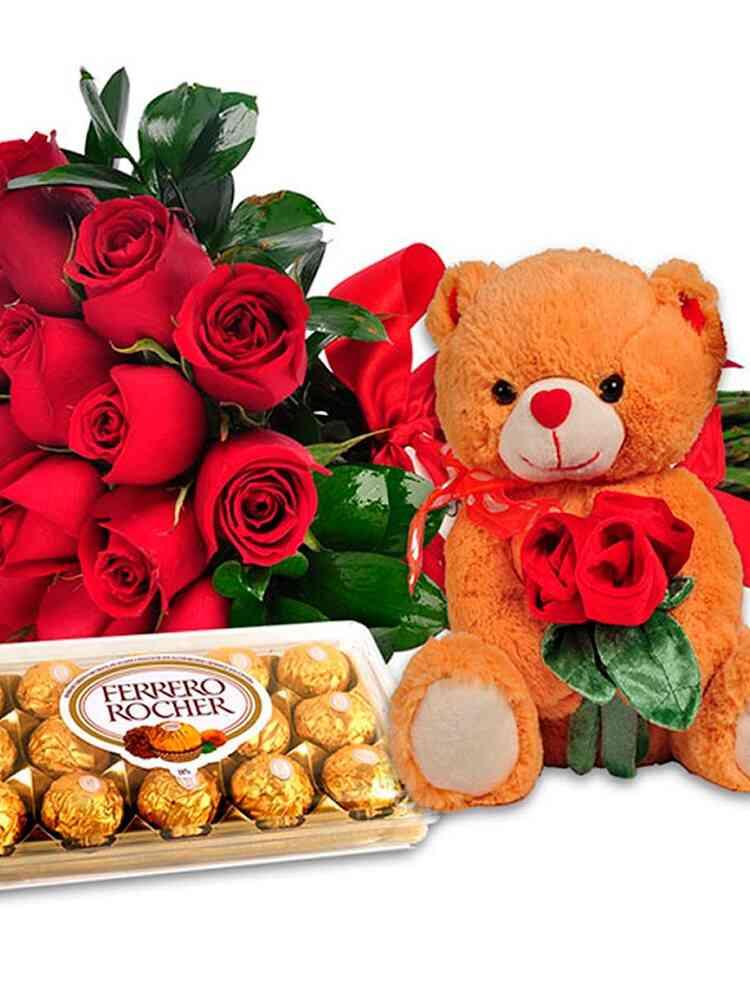 Amor Completo Flores Choc..