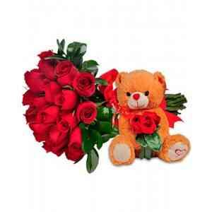 Arranjo de Rosas Amore Mi..