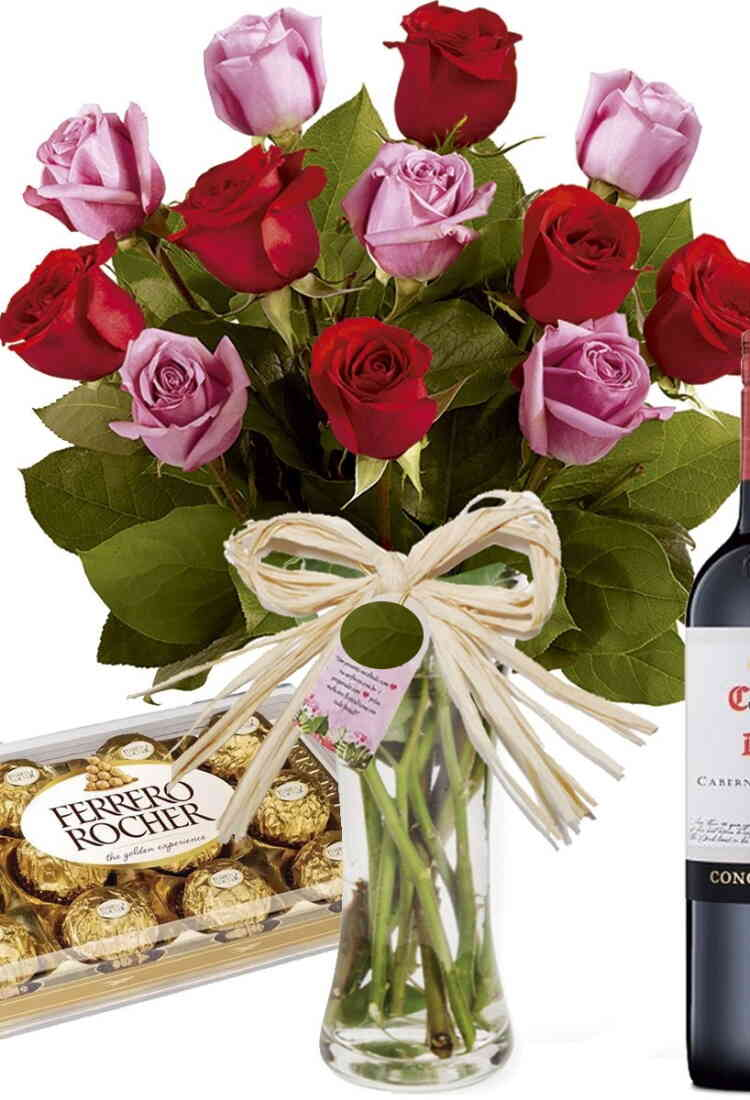 Bouquet Dia dos Namorados..