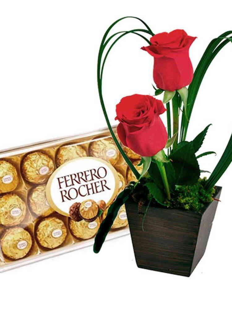 Encanto de Rosas e Chocol..