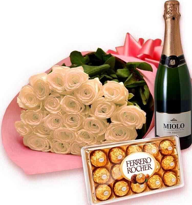 Bouquet Luxo de Rosas Bra..