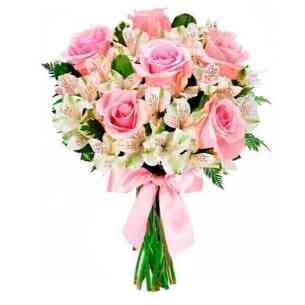 Bouquet Charme em Rosa..