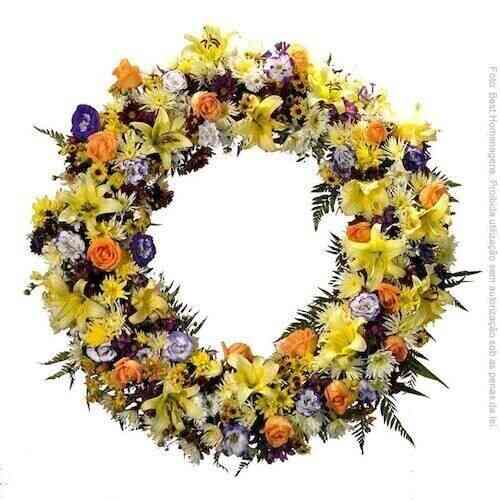 Coroa-de-flore s-American..