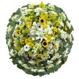Coroa de Flores Luxo Pequ..