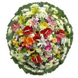 Coroa de Flores Super Pre..