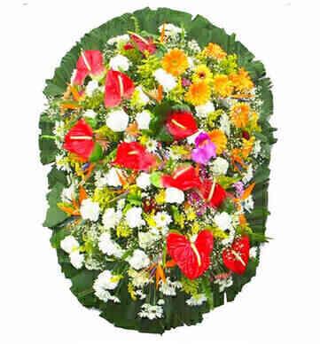 Coroa de Flores Exclusiva..