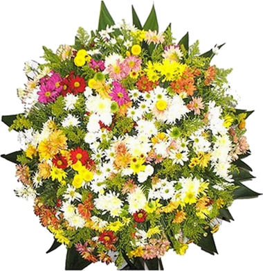 Coroa de Flores Tradicio..