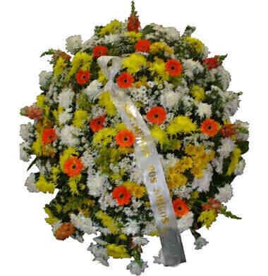 Coroa de Flores Tradicion..